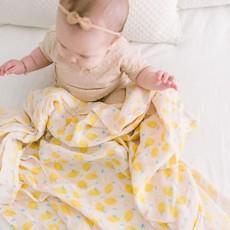 Loulou Lollipop Couverture mousseline - lemon