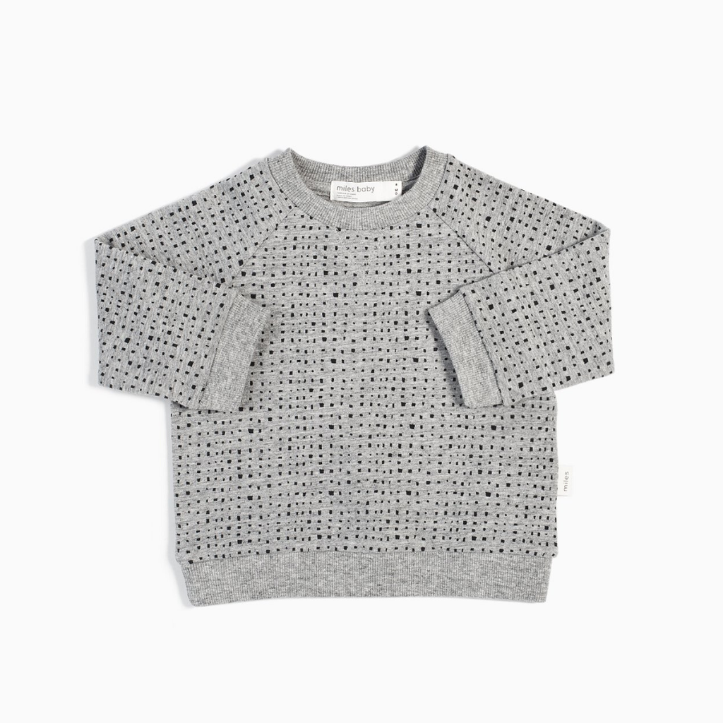 Miles Baby Chandail - gris -