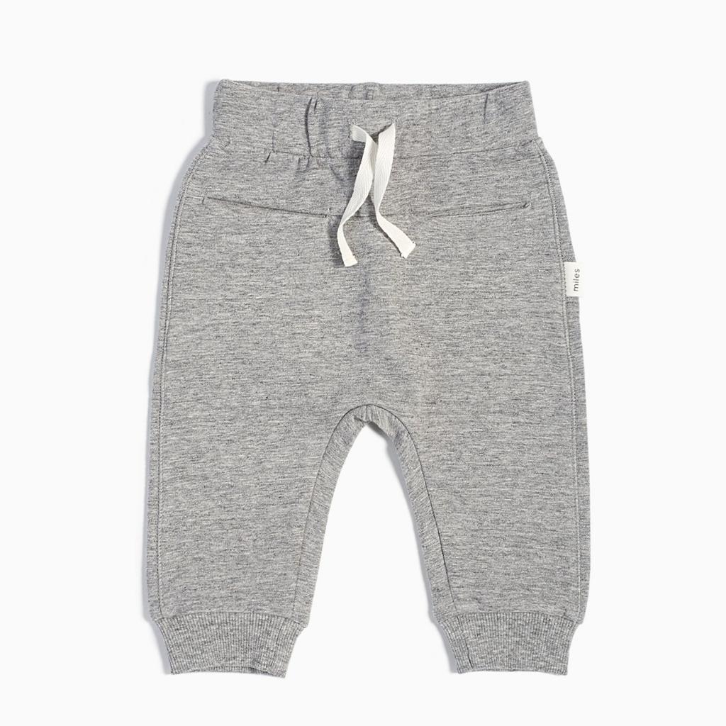 Miles Baby Pantalon jogger - gris -