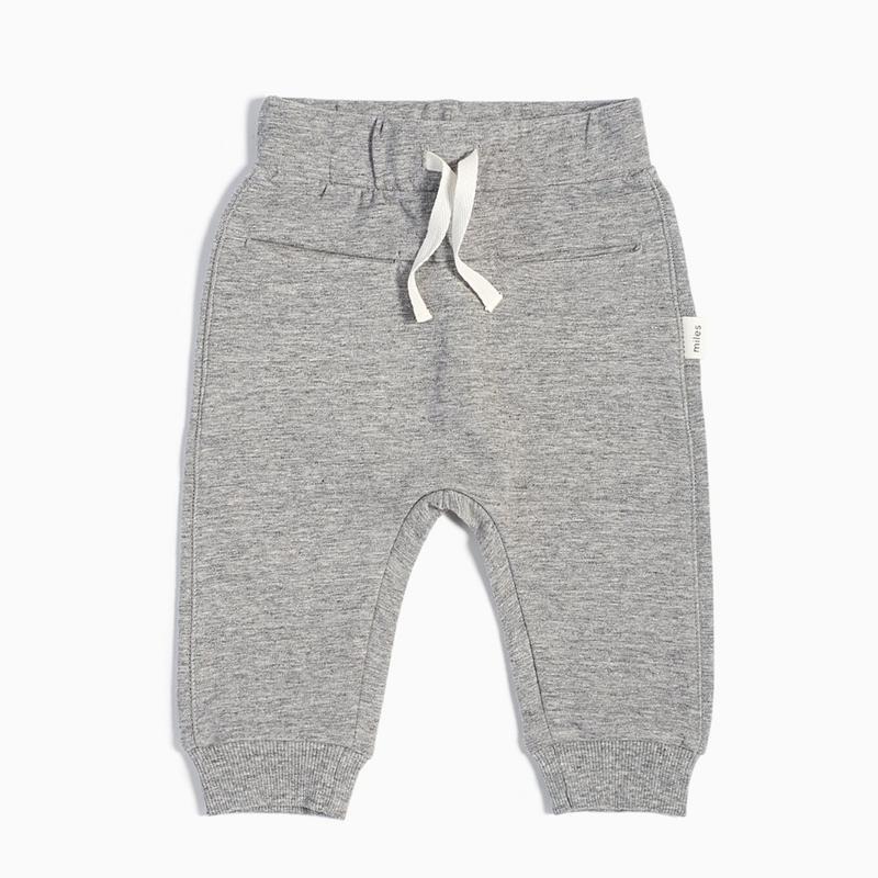 Miles The Label Pantalon jogger - gris -