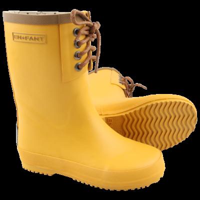 ENFANT Bottes de pluie - jaune -