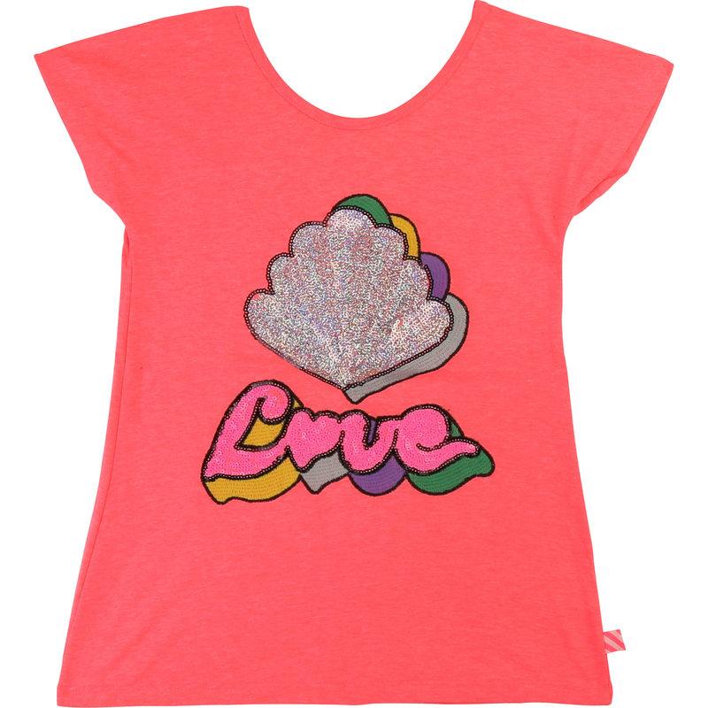 Billie Blush Tshirt - rose néon -