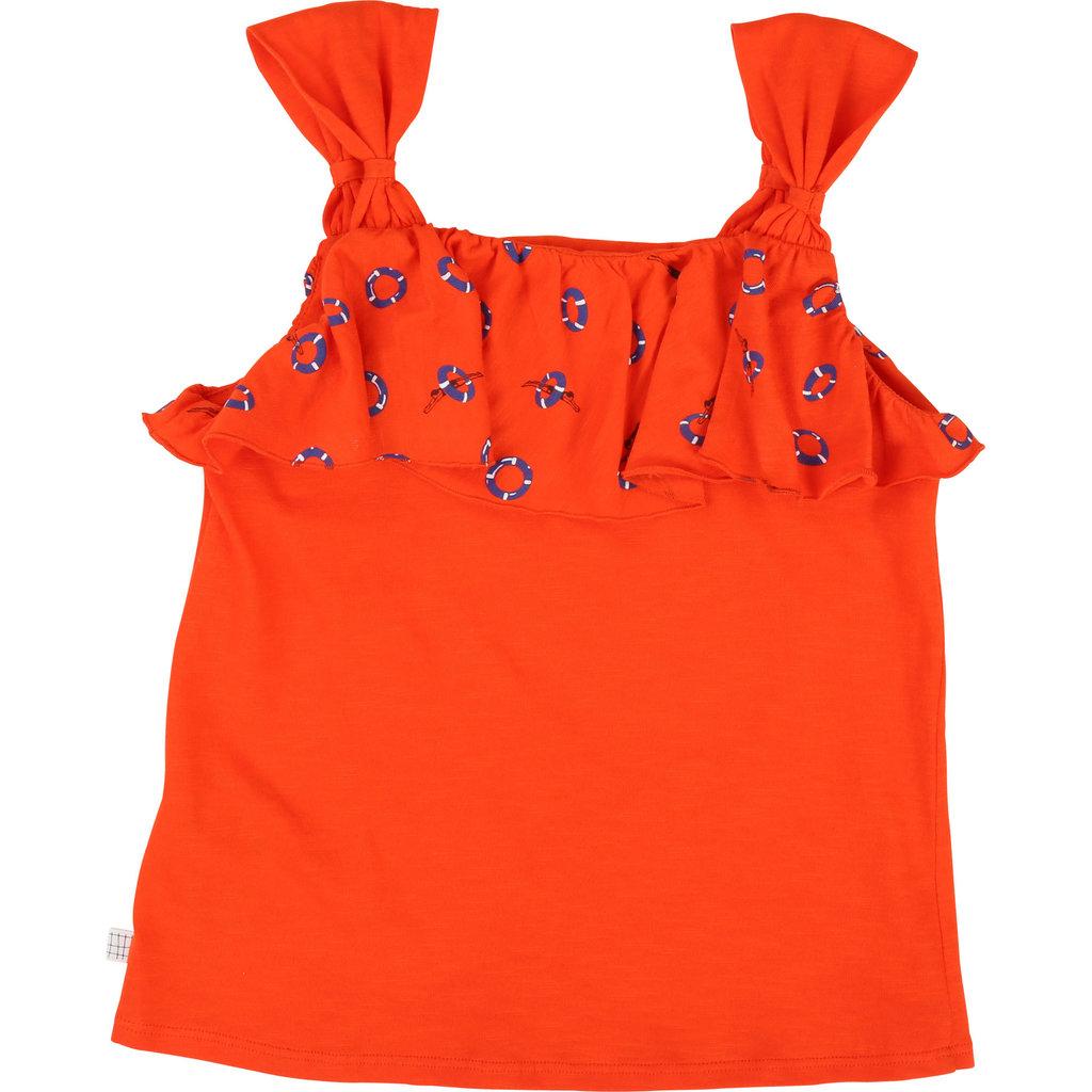 Carrément Beau Camisole - orange - 4 ans