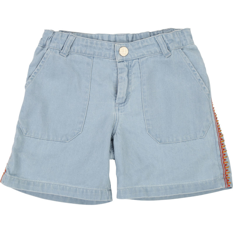 Carrément Beau Short denim - bleached -