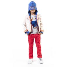 Veste superhéros - bleu -