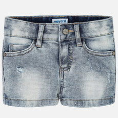 Mayoral Short - denim bleached -