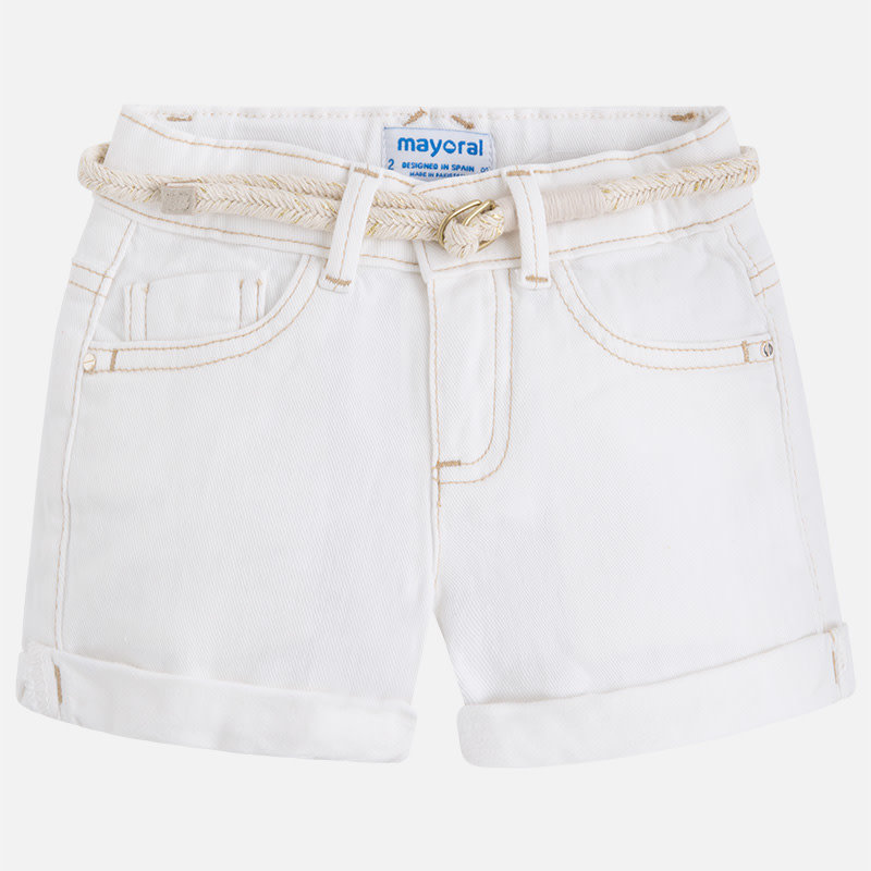 Mayoral Short denim - écru -