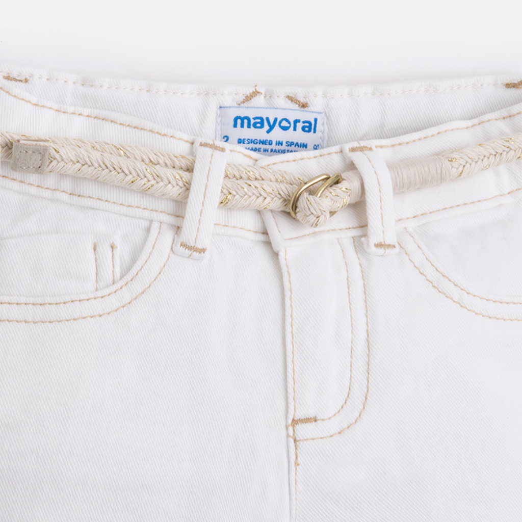 Mayoral Short denim - écru -