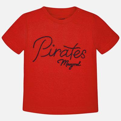 Mayoral Tshirt - rouge -