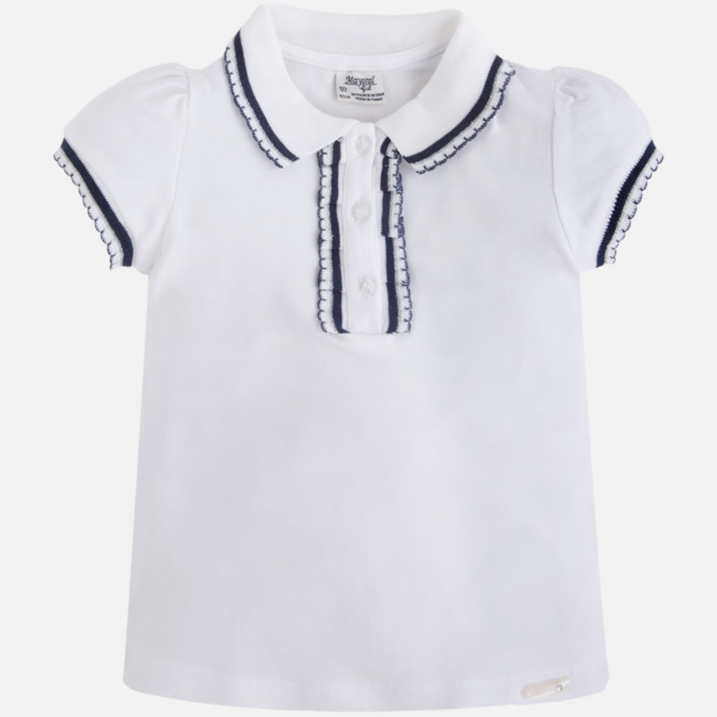 Mayoral Polo - blanc - 8 ans