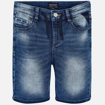 Mayoral Bermuda - denim souple -