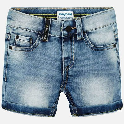 Mayoral Bermuda - denim clair -
