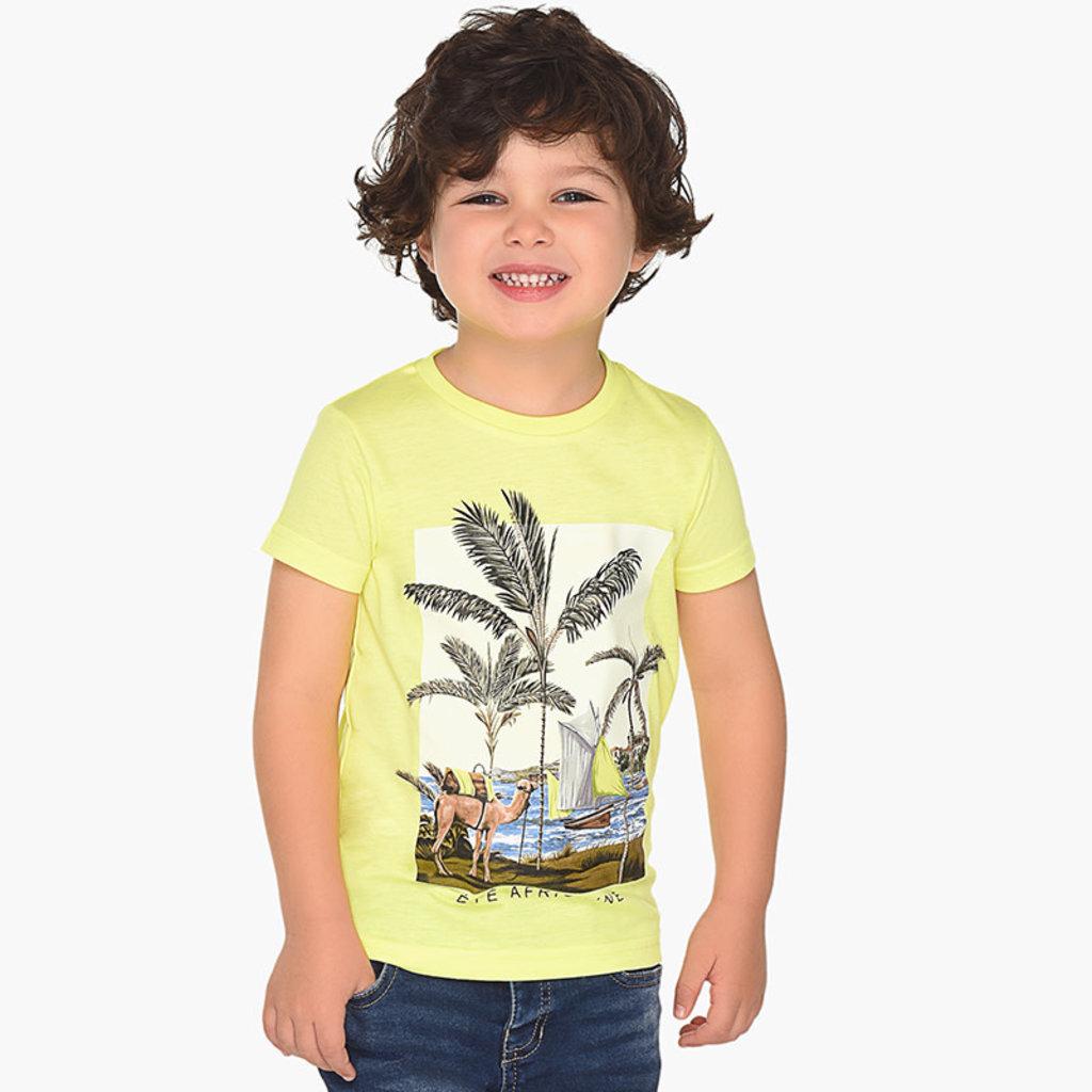 Mayoral Tshirt - jaune - 5 ans