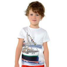 Mayoral Tshirt -blanc - 9 ans
