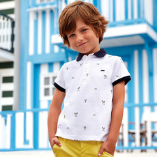 Mayoral Polo - blanc -