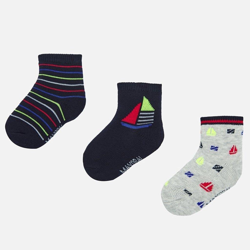 Mayoral 3 paires de chaussettes - marine -