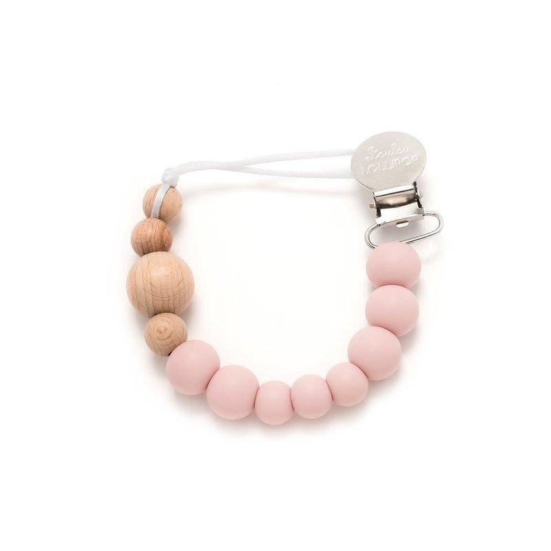 Loulou Lollipop Attache-suce Pink Quartz