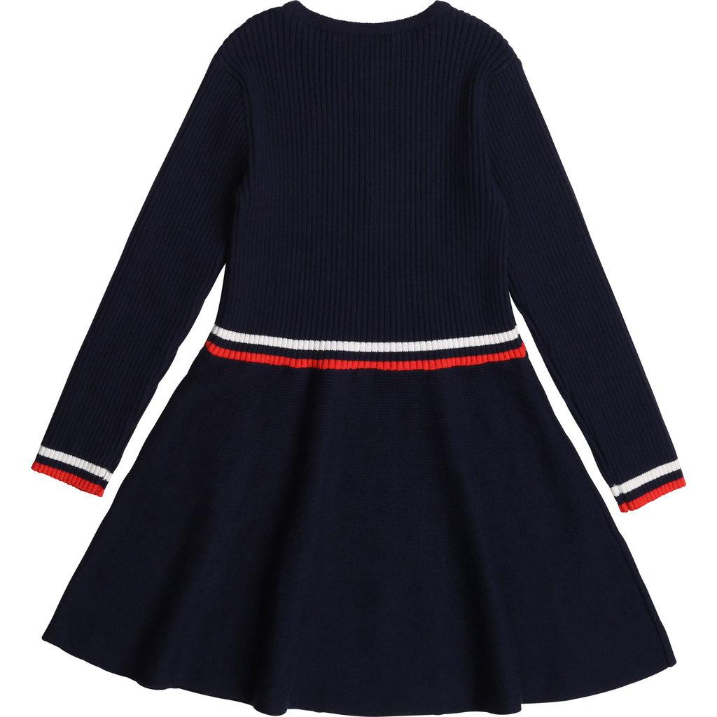 Carrément Beau Robe tricot - nuit