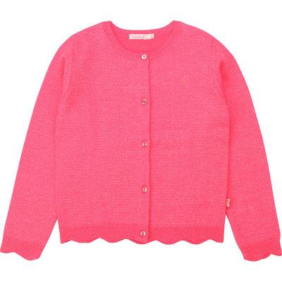 Billie Blush cardigan - rose fluo -