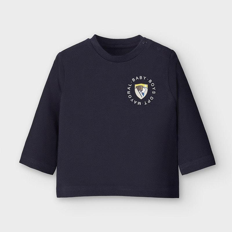 Mayoral T-shirt écusson - marine -