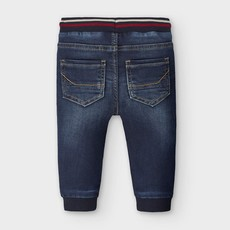 Mayoral pantalon jogger soft denim - foncé