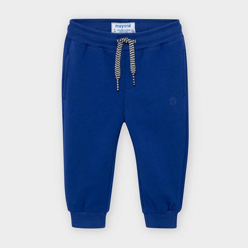 Mayoral pantalon molleton basic - blue pop -