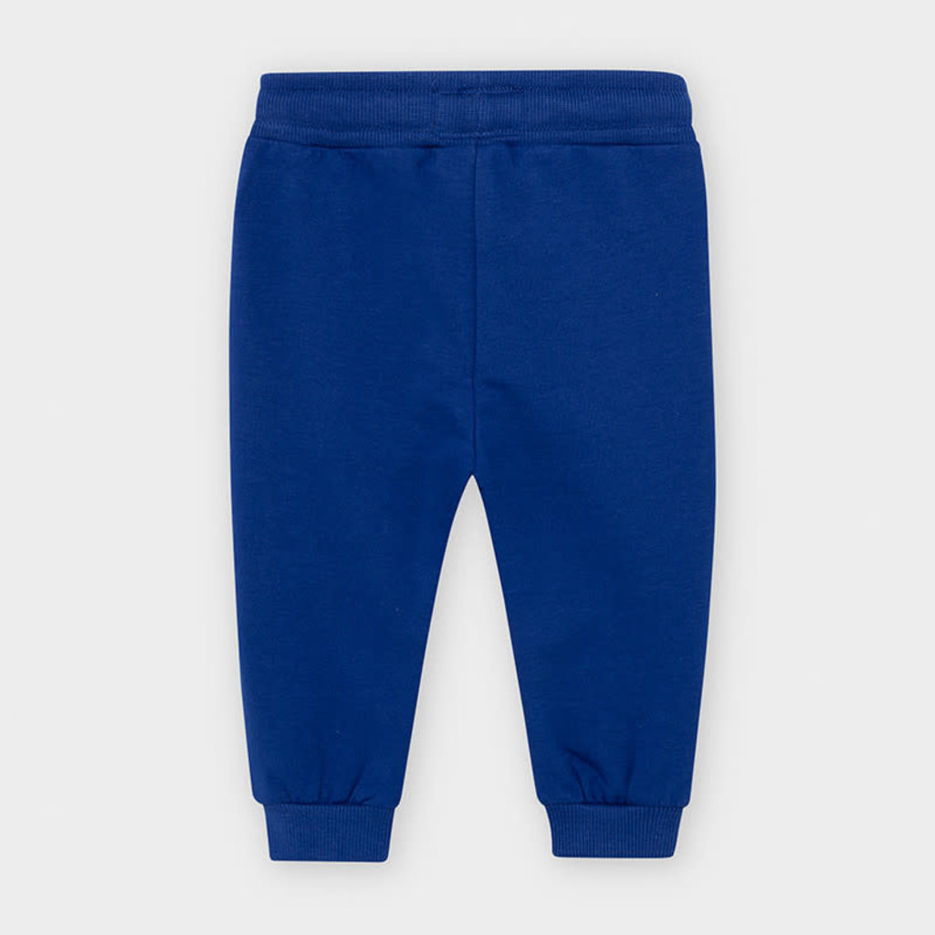 Mayoral pantalon molleton basic - blue pop -