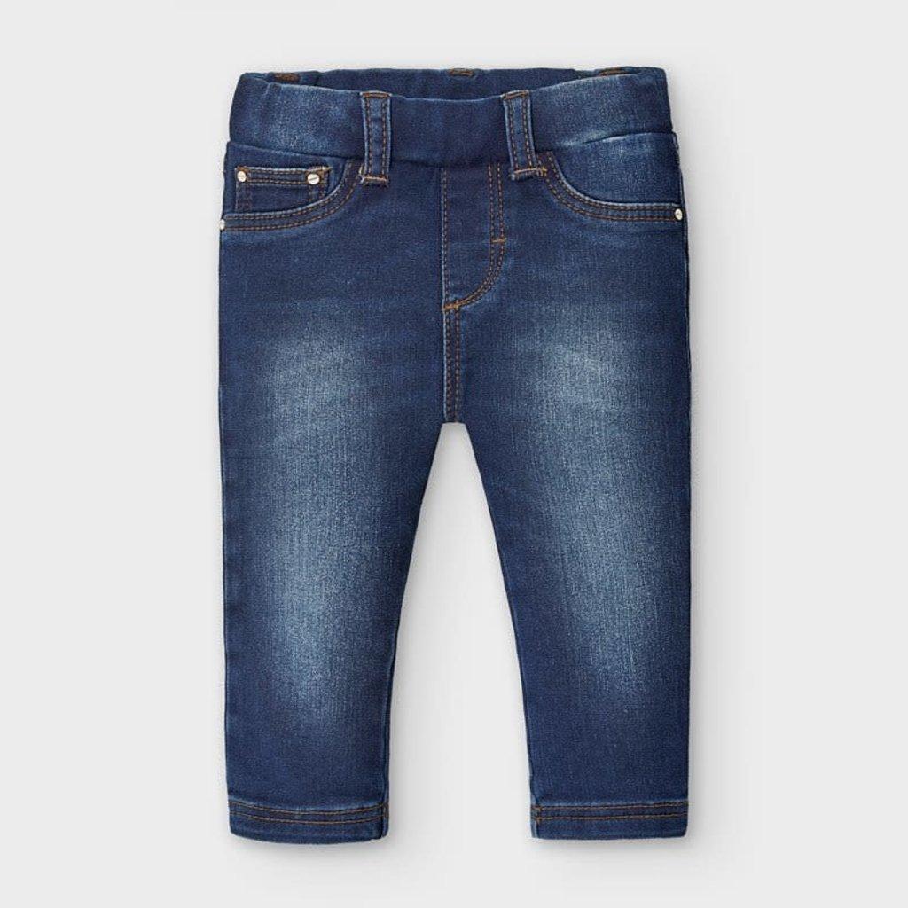 Mayoral pantalon jean basic - foncé