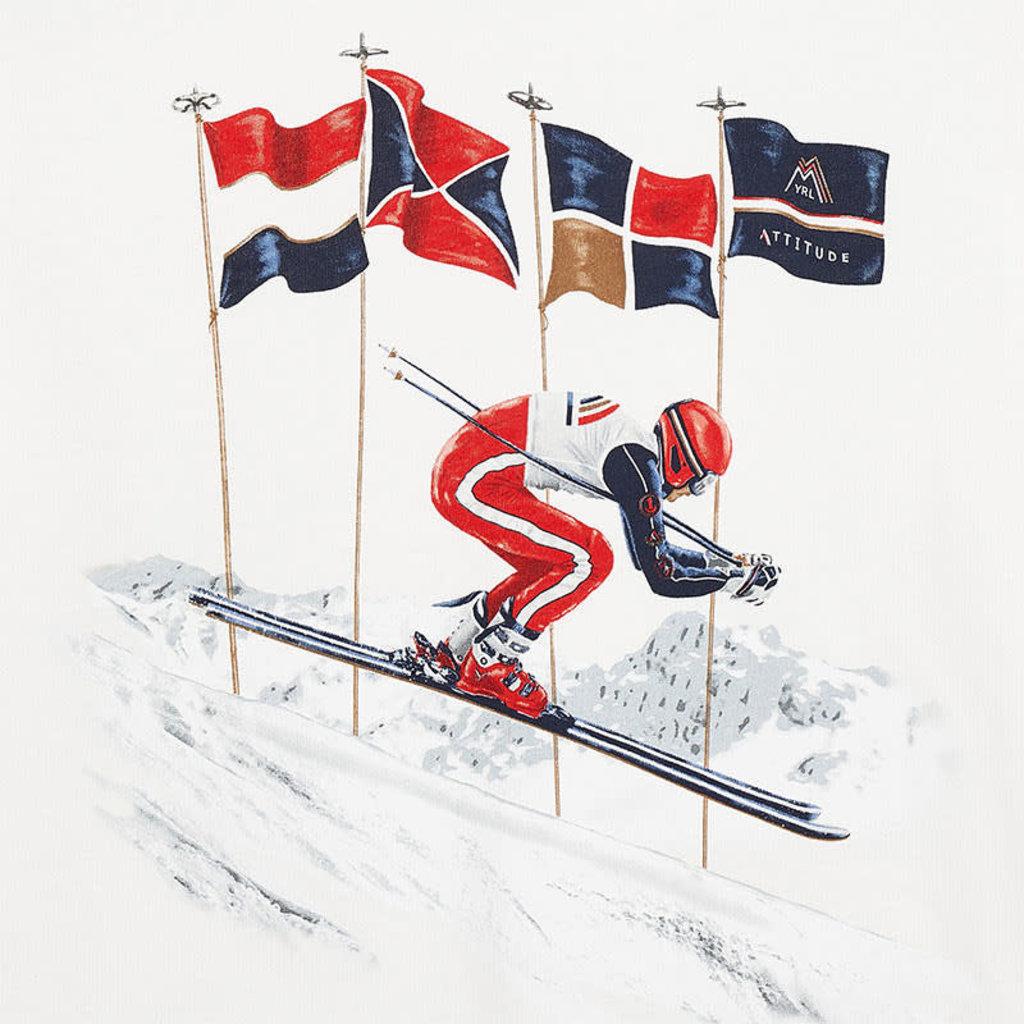 Mayoral Chandail skieur - blanc -