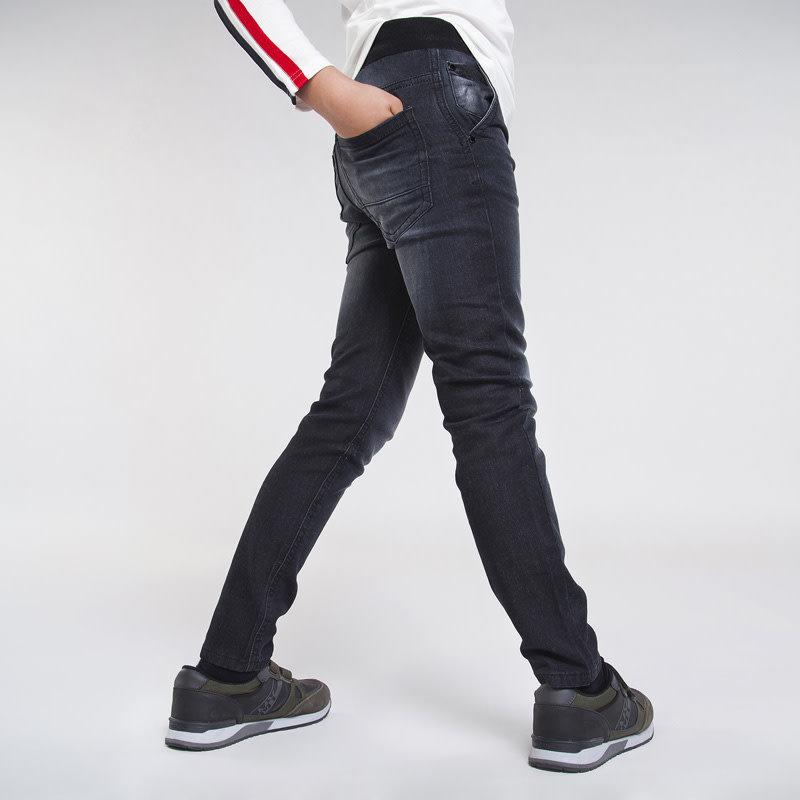 Mayoral Pantalon jogger sof denim - noir -