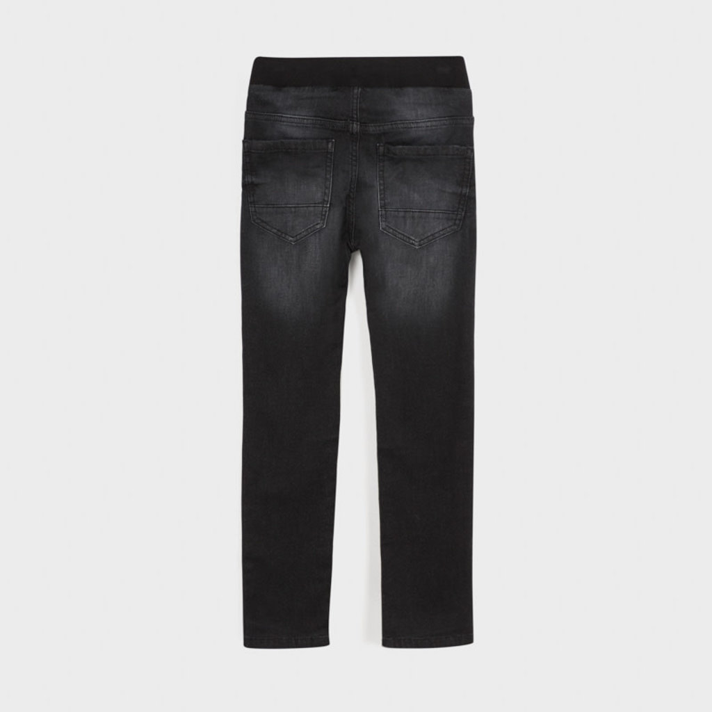 Mayoral Pantalon jogger sof denim - noir -