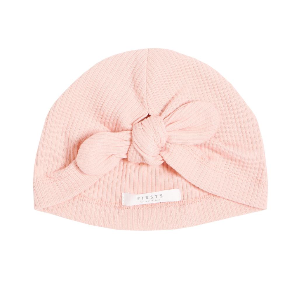Petit Lem Bonnet turban - rose -