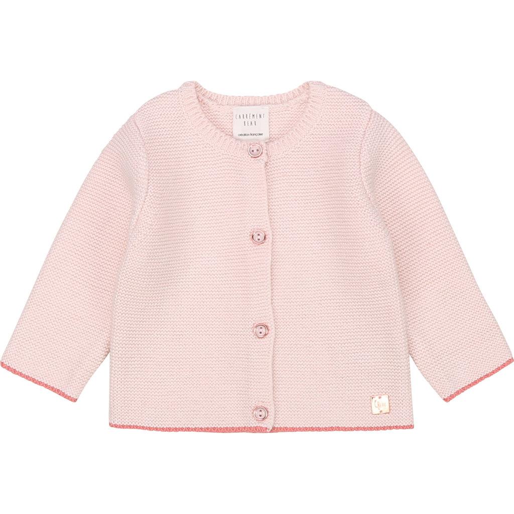 Carrément Beau Cardigan tricot - litchi -