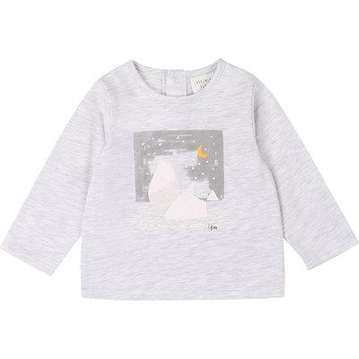 Carrément Beau T-shirt manche longue - gris clair -