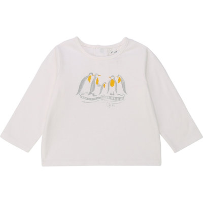 Carrément Beau T-shirt manches longue - offwhite