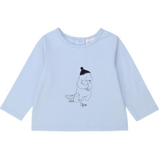 Carrément Beau T-shirt manche longue - Fjord -