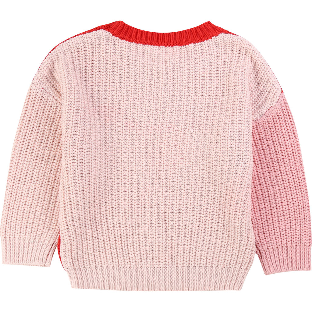 Carrément Beau Pull - rouge-rose -