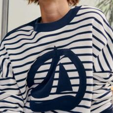 Petit Bateau Sweater - rayures -