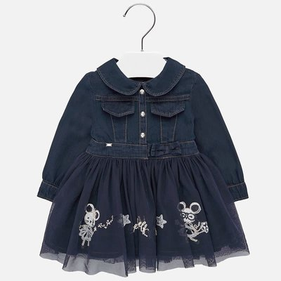 Mayoral Robe denim - marine - 9M