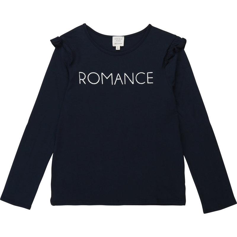 Carrément Beau Chandail Romance - Bleu cargo
