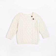 Petit Lem Chandail tricot - crème -
