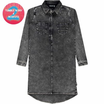 Tumble N Dry Robe - gray denim -