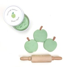 Pâte à modeler - pomme verte -