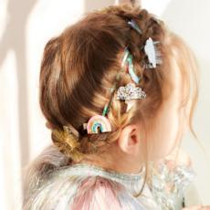 Meri Meri Sparkly weather - hair clips -