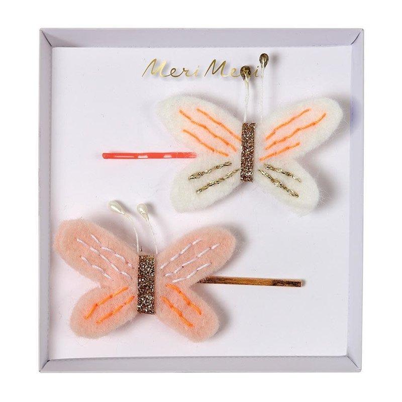 Meri Meri Butterfly - hair clips -