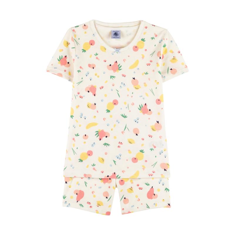 Petit Bateau Pyjama manches courtes - fruits -