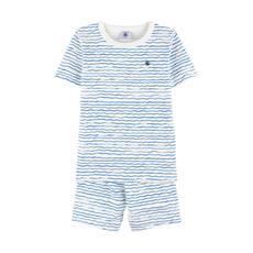 Petit Bateau Pyjama manches courtes - marin -
