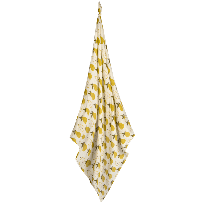Milkbarn Couverture mousseline coton organique - pear