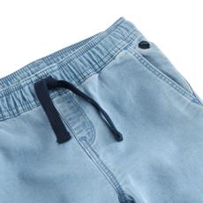 Petit Bateau Pantalon molleton denim - clair -
