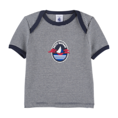 Petit Bateau Tshirt manches courtes - rayures -